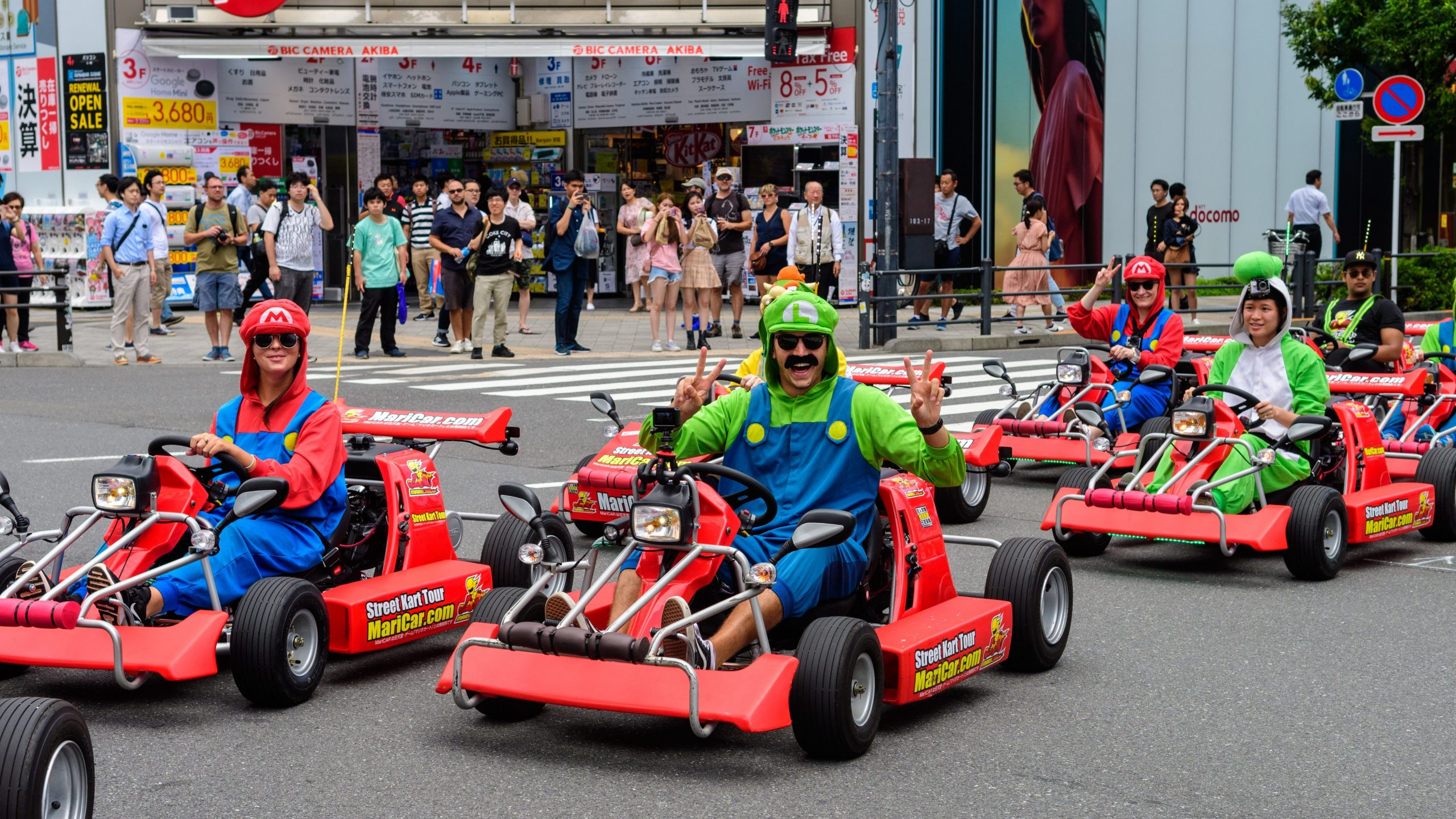 Locals Vs  Tourists  A Controversy Over Mario Kart In