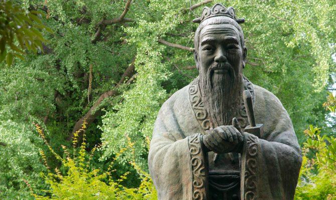 Statue of Confucious