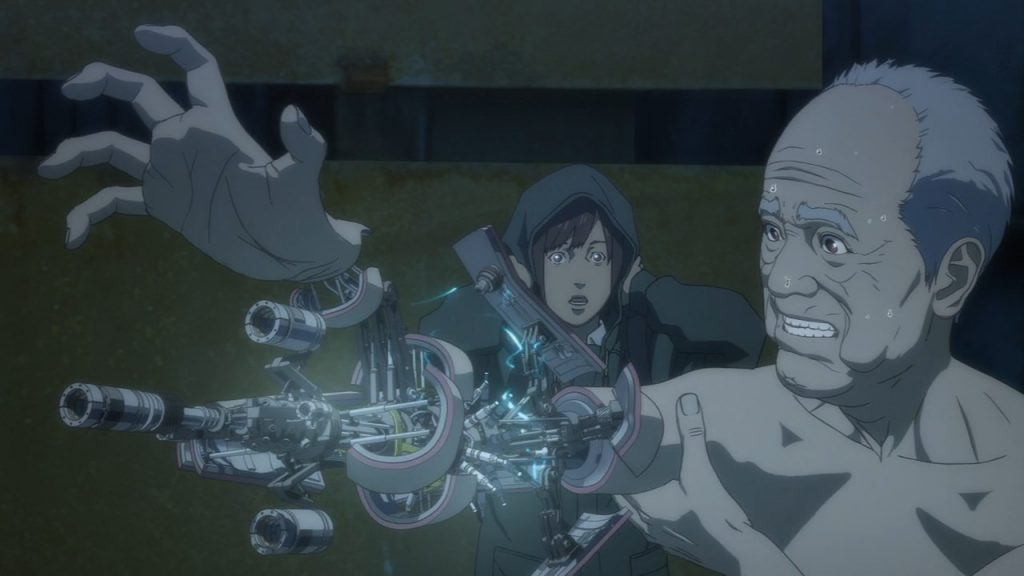 "Image from the anime ""Inuyashiki"""