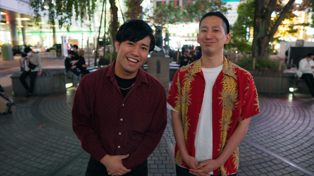 Hayaken and Ganso from Komazawa Isolation