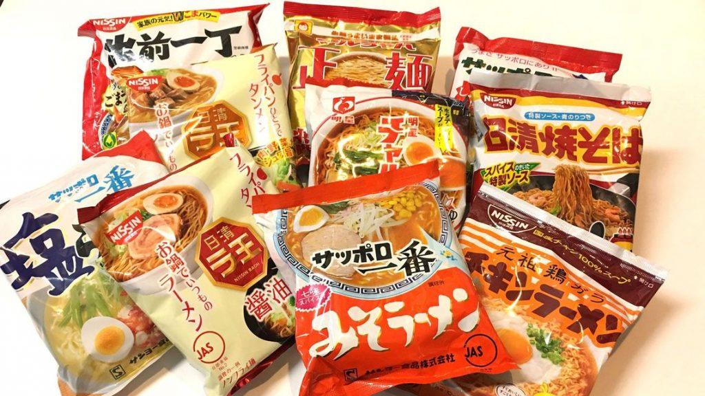 instant noodle sales boom