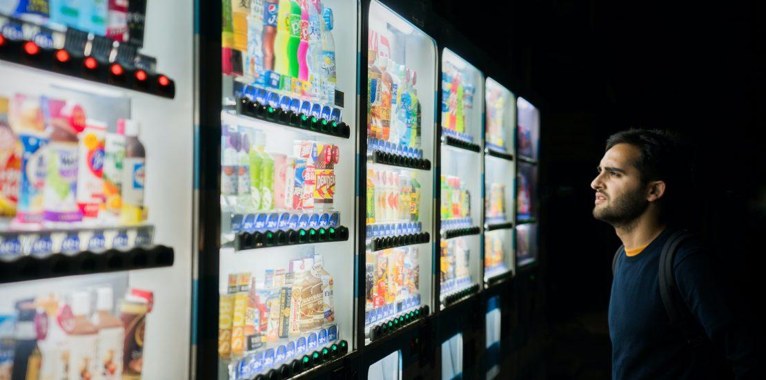 soft drink, vending machine