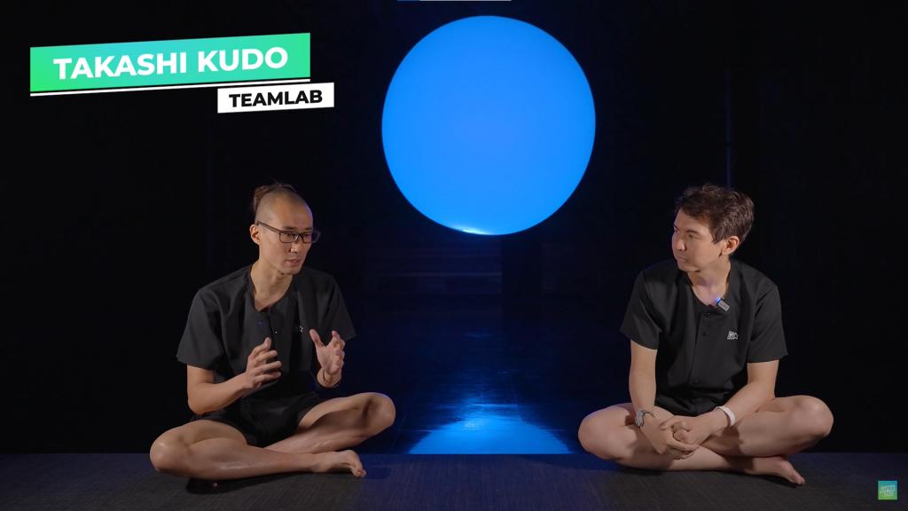 Takashi Kudo TeamLab Reconnect