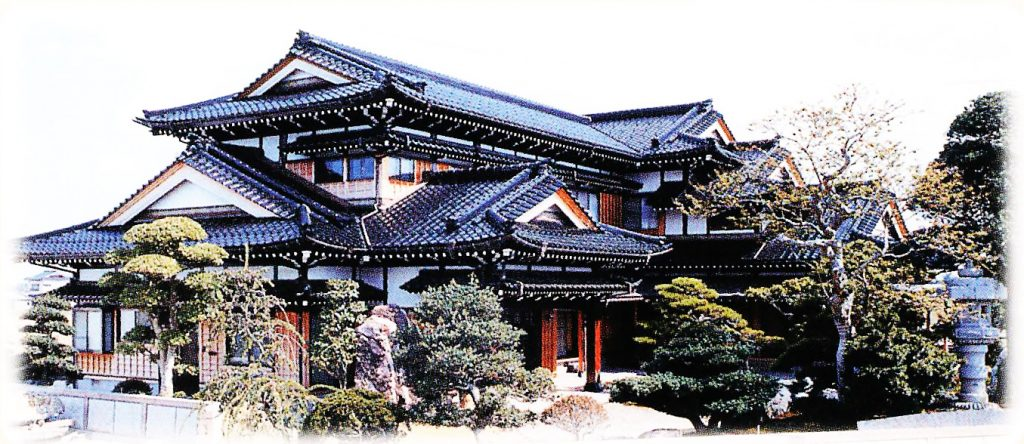Example of a relatively large home in Toyama Prefecture