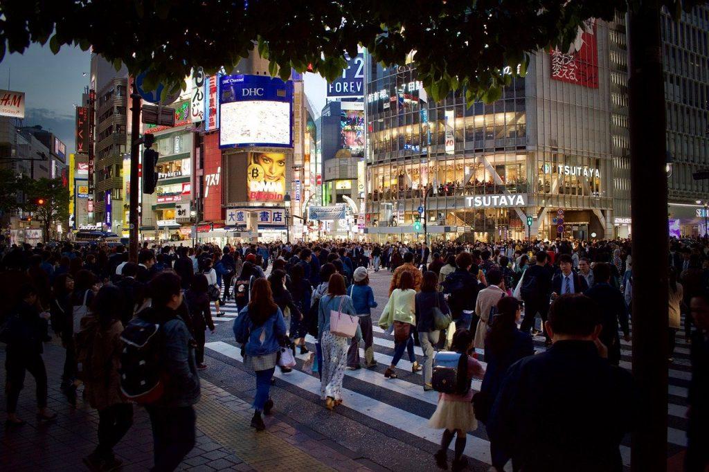Scramble Crossing in Shibuya