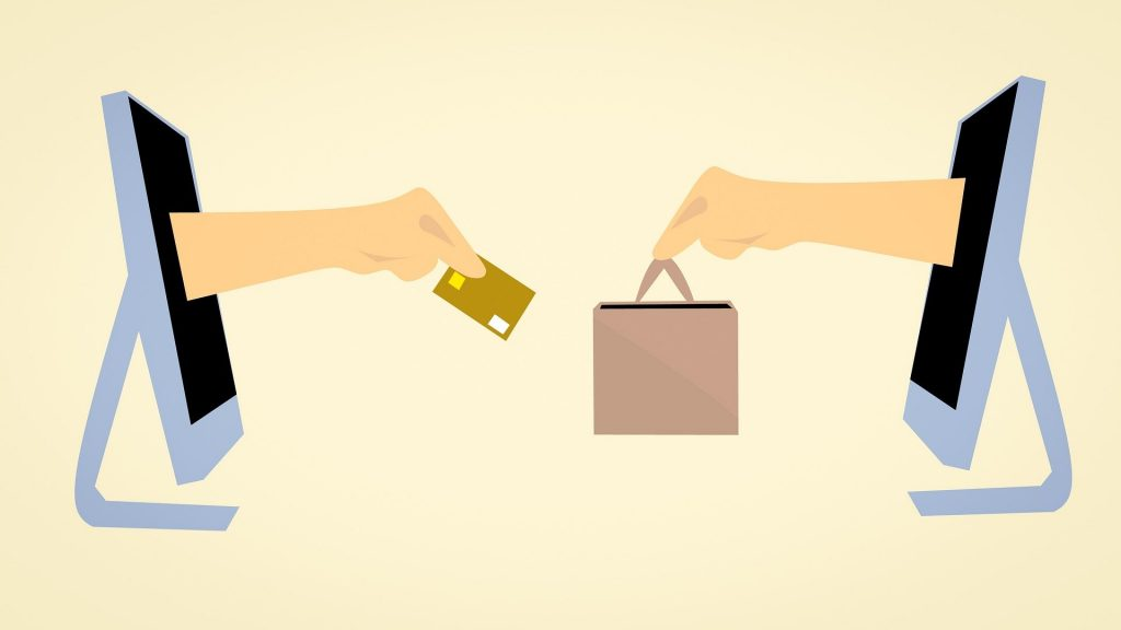 e-commerce illustration, Image Sourced from Pixabay