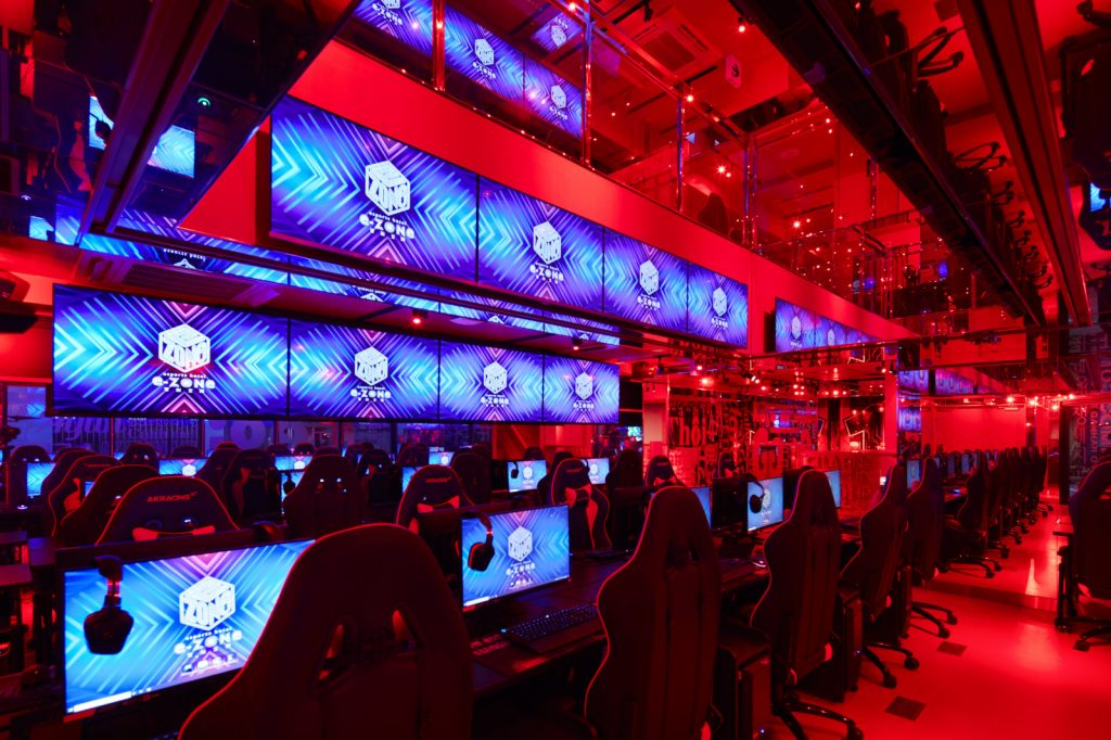 Tokyo Tower esports facility Red