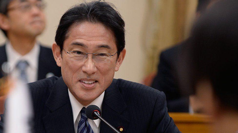 Newly-elected Prime Minister Kishida